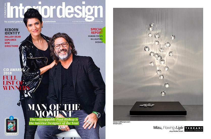 Mizu Featured In Interior Design Middle East October Issue Press Terzani